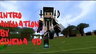Hướng dẫn làm intro animation ( intro Minecraft ) siêu đẹp !!!  bằng phần mềm Cinema 4D !!!