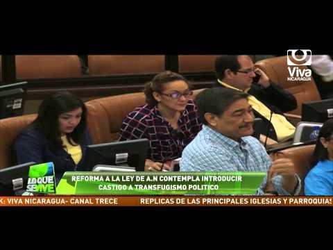 Reformas a Ley Orgánica de la Asamblea Nacional