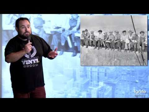 Ignite Sydney 6: Michael Kordahi : Saving The Girl (thousands of times)
