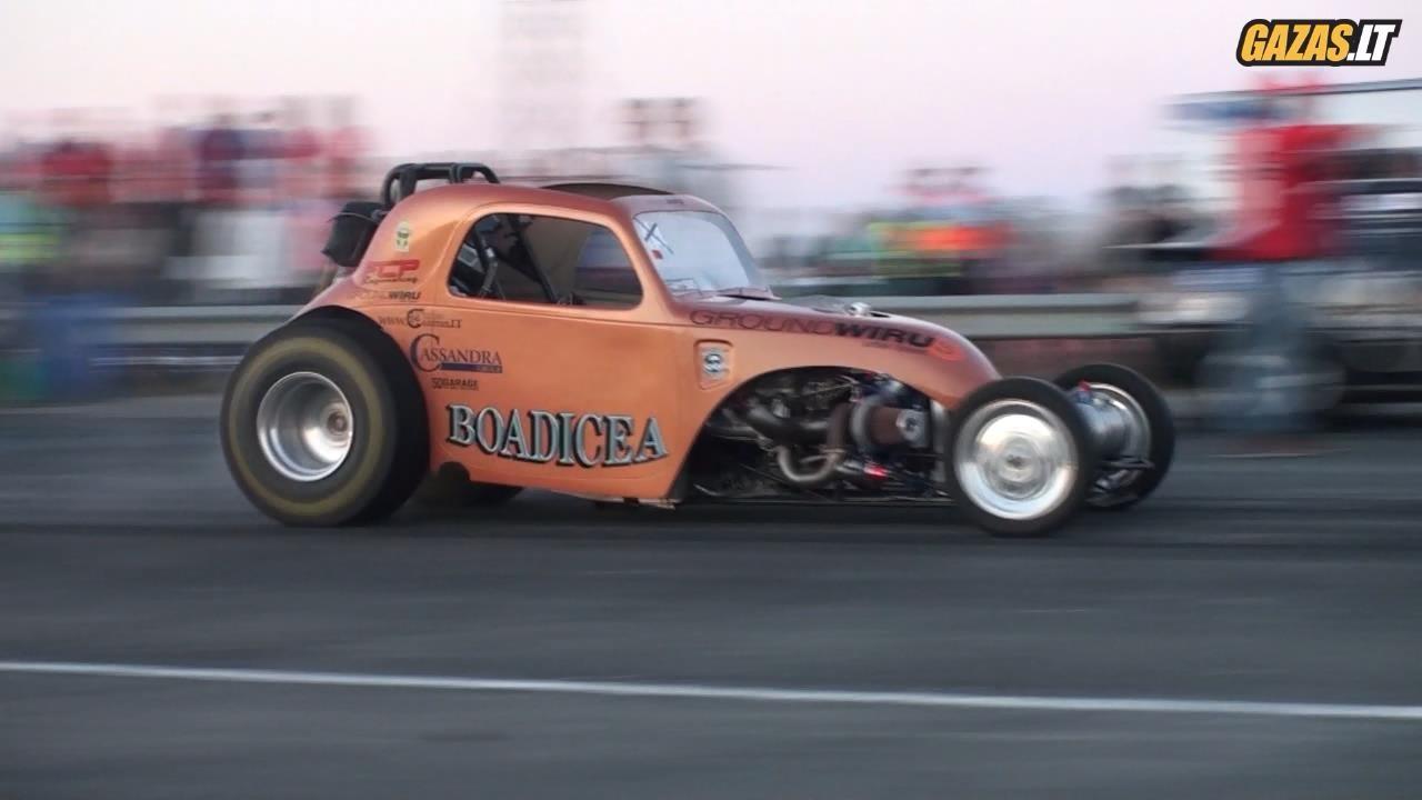Fiat Topolino Drag Race Car