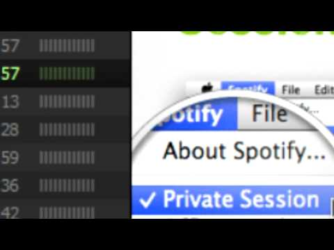 Spotify Private Session Tutorial