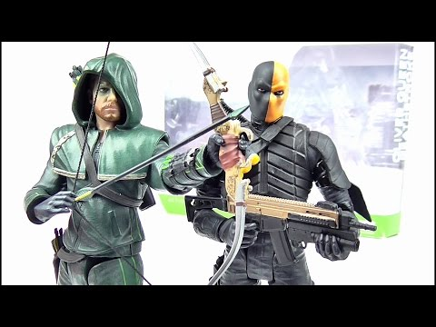 ARROW Oliver Queen & Deathstroke 2 Pack Figure Reviews | Votesaxon07