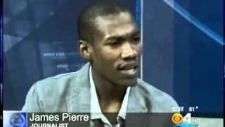 Haiti Another Stuggle Documentary - James Pierre On Cbs 4