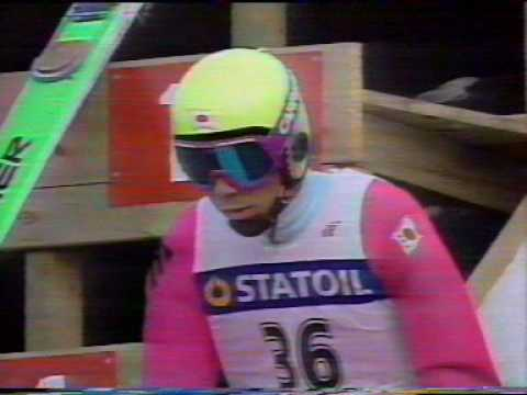 Noriaki Kasai - Vikersund 1990, Ski Flying World Championships
