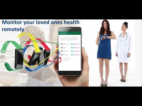 Helo Health Monitoring Devices - Remote health monitoring System Helo wristband World Global Network