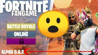 FORTNITE FANGAME ALPHA 0.0.2 HUAWEI Y9 2019 GAMEPLAY