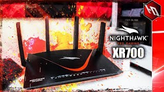 THE BEST GAMING ROUTER GETS AN UPGRADE!! (Netgear Nighthawk XR700 Unboxing)