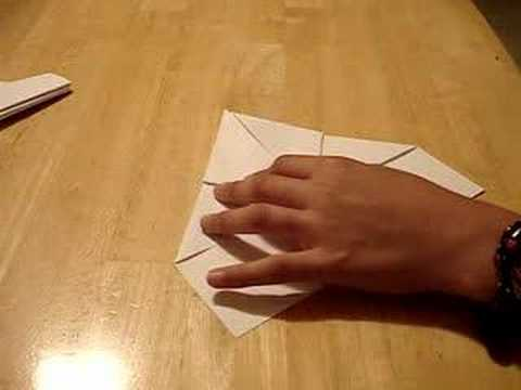 how to fold a letter professionally