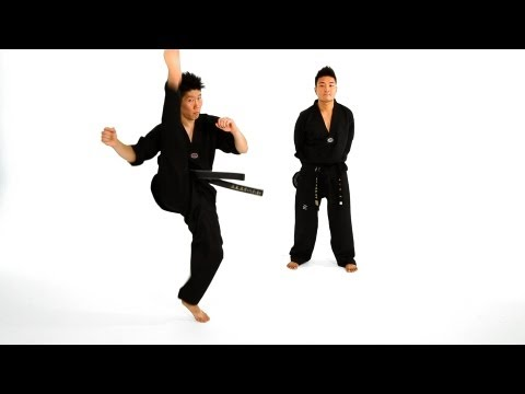 How to Do an Axe Kick | Taekwondo Training Image 1