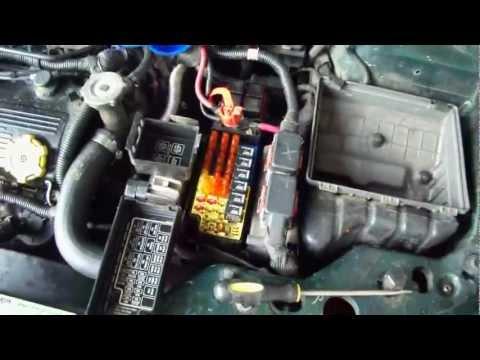 1996-2000 Chrysler Sebring Convertible-Relays & Fuses (Fuzes)