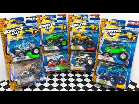 Hot Wheels Mega Monster Jam Toy Trucks Unboxing!