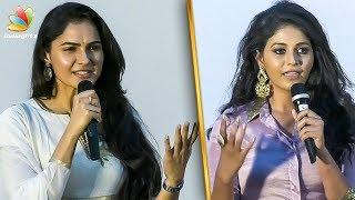 யாருமேலயும் கோபமில்லை : Andrea at Director Ram's Peranbu Movie Audio Launch   Actress Anjali