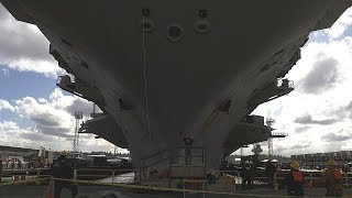 LEGENDARY SUPERCARRIER USS Nimitz enters dry dock, will undergo major UPGRADES AND MAINTENANCE!