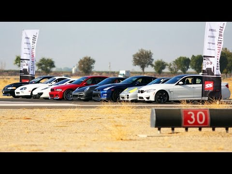 Porsche 911 Turbo VS BMW M3 VS Toyota Supra VS McLaren 12C