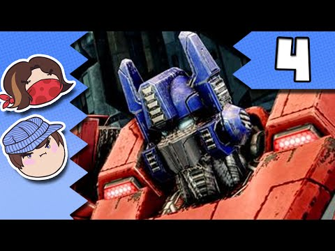 Transformers Fall of Cybertron: Eye of the Storm - PART 4 - Steam Train