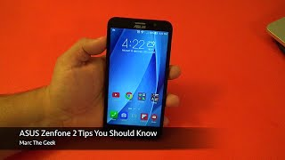 ASUS Zenfone 2 Cool Tips You Should Know