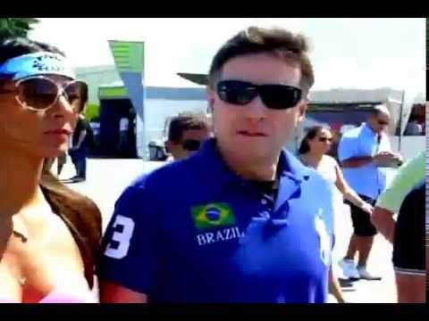 Class 1 Brasil - Eike Batista na Marina da Glória - World Powerboat Championship 2010