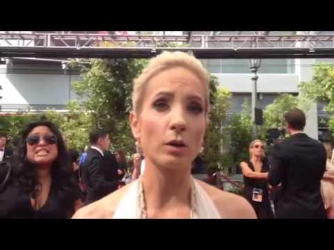 Joanne Froggatt ('Downton Abbey') on Emmys red carpet