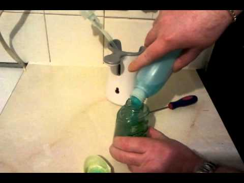 How to refill a Dettol No-Touch Hand Wash