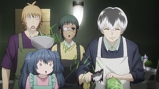 Tokyo Ghoul:re Haise Can Now Eat Human Food English Dubbed