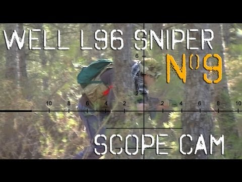 Airsoft Sniper L96 Scope Cam Video9