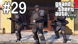 """Прохождение игры GTA 5 - Часть #29 [Ограбление банка на 8 млн. долларов] """"Grand Theft Auto V"""""""