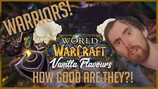 VANILLA FLAVORS 🍦 Warrior Vanilla WoW Class Guide