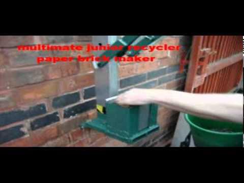 paper briquette maker paper brick maker