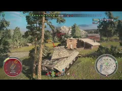 World of Tanks Xbox one E100  6 Kills