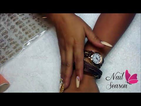 Uso de calcomanias tipo foil para uñas - Review de regalos de dresslink