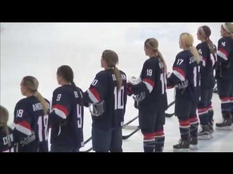 2015 Women's Four Nations Cup - USA vs Canada highlights