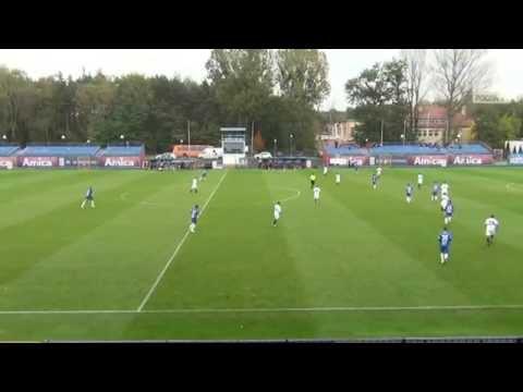 Sparing: Lech Poznań - Pogoń Szczecin 0:0 (skrót)