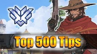 How GRANDMASTER Players DESTROY with McCree - Overwatch Top 500 PRO Tricks | IDDQD McCree Vod