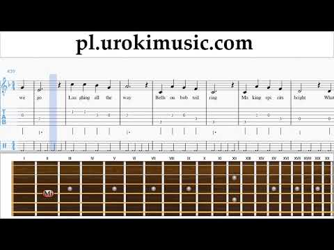 Nauka Gry Na Gitarze Jingle Bells Nuty Poradnik Um-b463