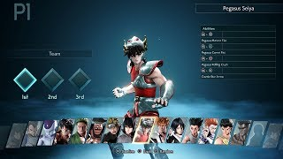 JUMP FORCE - All Characters & Stages Showcase (BETA) PS4 Pro