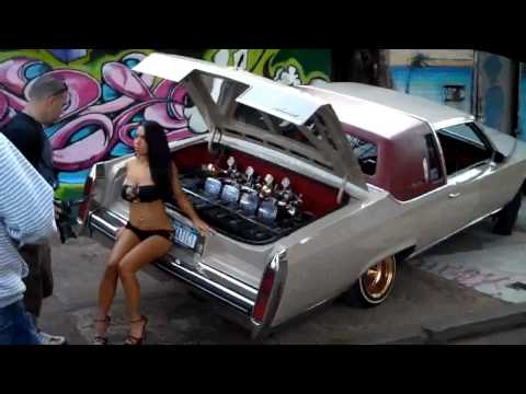 Girls Of Lowrider Magazine Photo shoot NY Video