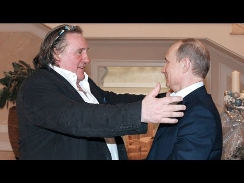 Depardieu meets Putin for dinner after getting Russia citizenship
