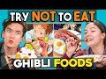 Try Not To Eat Challenge - Studio Ghibli Foods | People Vs. F...