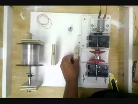 Homemade fishing spool line winder youtube for Professional fishing line spooler