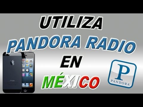 Utiliza Pandora Radio fuera de USA en tu iPhone. iPod Touch & iPad