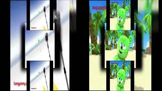 Lionix The Savage Scan Vs NGC Media Lab Scan Gummy Bear Scan's Version 2