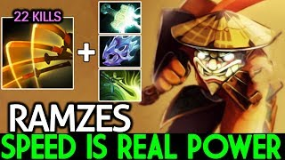 Ramzes [Juggernaut] Speed is Real Power Crazy Omnislash Damage 7.21 Dota 2