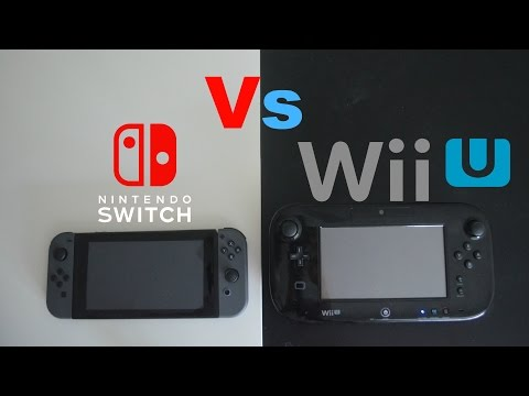 Nintendo Switch Vs Wii U - Review