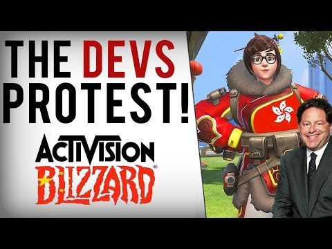 Blizzard Employees Fight Back! Stage Protest & Expose Censorship Demands From Chinese Govt.