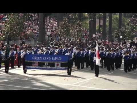 All-Izumo Honor Green Band - 2013 Pasadena Rose Parade