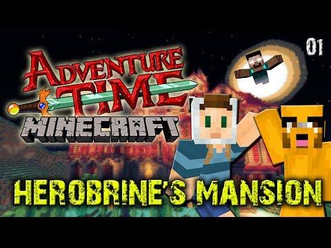 Adventure Time Minecraft : Herobrines Mansion Pt. 1 W Swimmingbird941