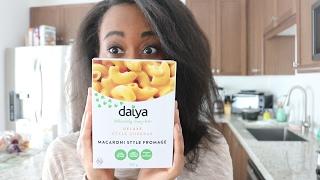 Trying Vegan Mac And Cheese Daiya 🧀