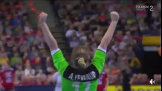 Norway - France first half women handball Germany 2017