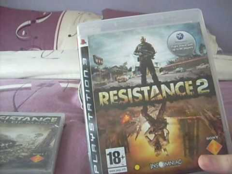 The Resistance francaise Resistance fall of man ,2 Resistance Retribution and Resistance 3