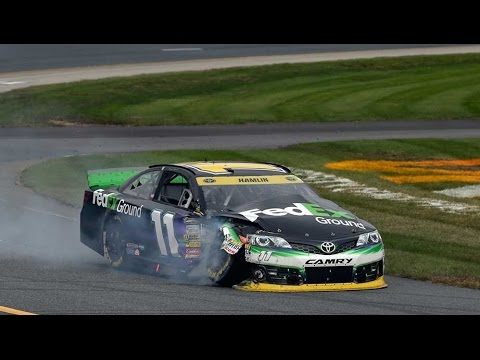 Multi Car Crash @ 2014 NASCAR Sprint Cup Loudon